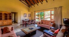 Self-catering family 6 bed cottage at Thendele Camp in the Royal Natal Park, uKahlamba Drakensberg Park located in South Africa