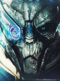 Garrus Vakarian I love my space shark boyfriend.