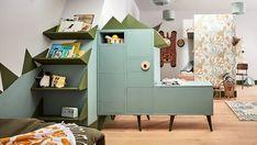 Dans la chambre des enfants, dressings personnalisés et ambiance jungle | Leroy Merlin