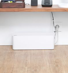 Rushfaster.com.au - Bluelounge CableBox Cable Organiser - White