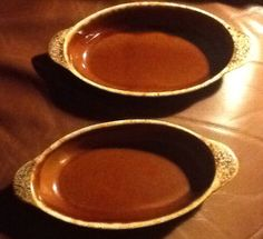 Hull Brown Drip Augraten Casserole by ContemporaryVintage on Etsy, $15.00