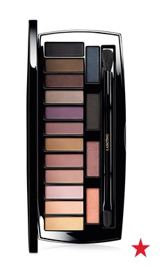 Quite possibly the only palette you will ever need, this 16-color collection by Lancôme helps you create every look from barely-there neutrals to a dramatic smoky eye.