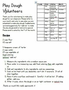 Parent Volunteer Pack Great For Open House Or Conferences