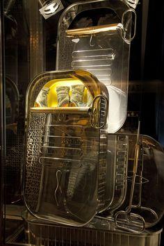 WindowsWear | Christian Louboutin, Paris, March 2013. Gotta love an oversize sardine tin!
