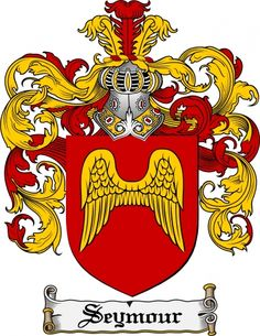 Seymour Coat of Arms Seymour Family Crest Instant Download - for sale, $7.99 at Scubbly