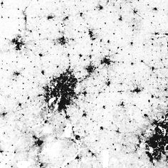The Racial Dot Map One Dot Per Person For The Entire US Maps - Us dot map