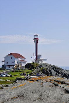 Yarmouth, Nova Scotia. The Light.