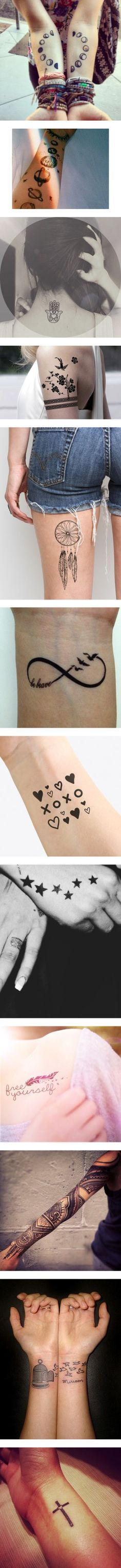 """""""Tattoos"""" by blonde-moment on Polyvore"""