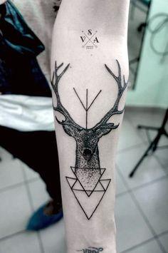 Geometric Tattoos Designs and Ideas (27)