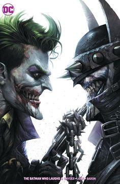 Batman who laughs and Joker Joker Comic, Joker Pics, Joker Art, Joker Batman, Joker And Harley, Batman Metal, Batman Dark, Joker Wallpapers, Animes Wallpapers
