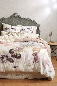 Anthropologie Meadow Dusk Duvet #anthrofave