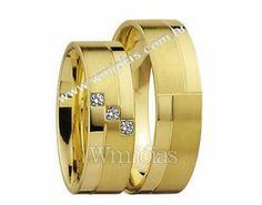 ◊ Wm Jóias - Aliancas em ouro 18k- Maior site de ALIANÇAS de casamento e noivado do Brasil - $922.00