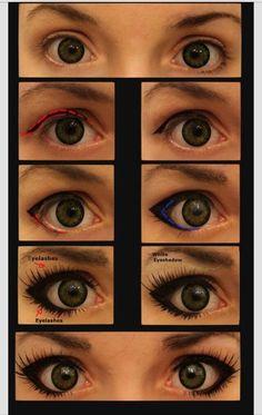 Doe Eyes Makeup #Beauty #Trusper #Tip