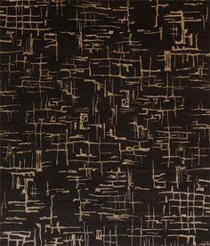contemporary motif rug ZEN by Ben Soleimani MANSOUR MODERN