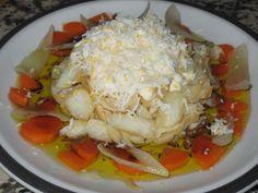 Mi recetario: Ensalada de bacalao en escabeche