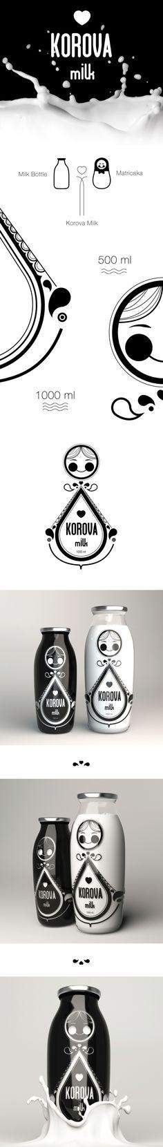 Korova Milk on Behance