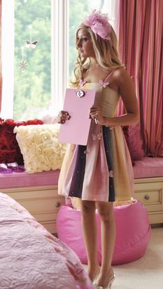 Sharpay Evans sparkly pink dress
