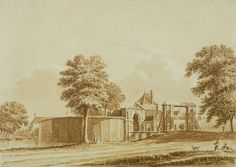 foto Noord-Hollands Archief De in 1480 gebouwde (tweede) Zijlpoort doorstond het Spaanse beleg van 1572-1573 tamelijk goed. In 1628 werd hij toch nog vervangen door een laatste versie, die een voorbeeld van een schier onneembaar bastion vormde. In 1824 gesloopt ten behoeve van een tentoonstelling waarbij Haarlem zich als modern en toegankelijk wilde tonen.