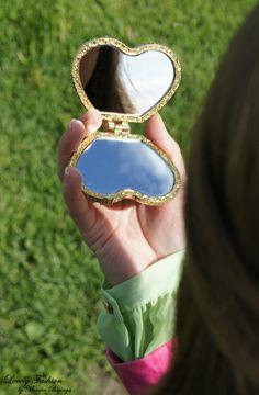 heart little mirror