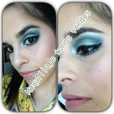 Maquillate con tonos verdes *jipleo*