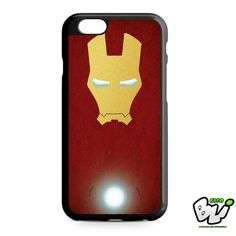 Iron Man Body Red Vector iPhone 6 Case   iPhone 6S Case