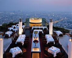 Sirocco Restaurant, Bangkok, Thailand   The Best Romantic Dinner in a Lovely Atmosphere   DesignRulz.com