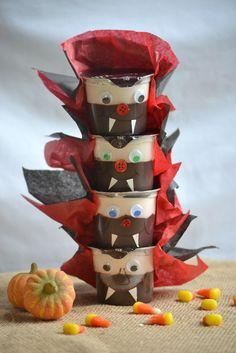 vampire pudding cups