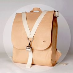 SACAGAWEA CARRYALL - Natural Vegetable Tanned Leather
