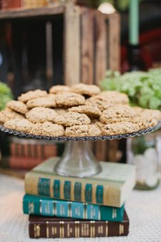 Rustic Newport Beach Wedding - Book to hold cookie