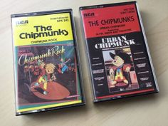 Chipmunk Rock 1982. Urban Chipmunk 1981. The Chipmunks. Inserts and cassettes all fine but note fading to lettering on side 1 of Chipmunk Rock. | eBay!