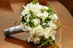 Wedding Flowers | Bouquets White classic bouquet. #jardinfd #bouquet #flowers