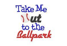 Take Me Out Ballpark 6X10 Hoop