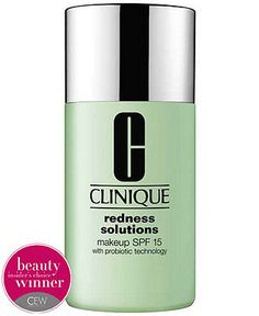 Clinique Redness Solutions Makeup Foundation SPF 15 with Probiotic Technology