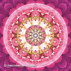 Flower of Life Mandala 5-Mandala Monday - Flower of Life Mandalas Part 1 © Atmara Rebecca Cloe and New World Creations