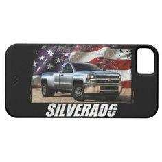 2015 Silverado 3500 Regular Cab WT Dual Rear Wheel iPhone SE/5/5s Case