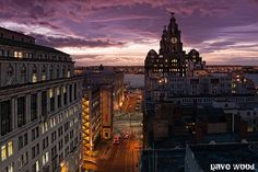 Water Street, Liverpool from the rooftop