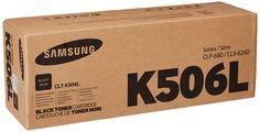 Samsung CLT-K506L Black 6K High Yield Toner Cartridge Toner
