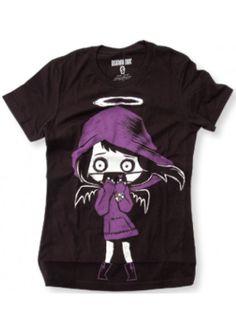 Akumu Ink Angel of Death Tshirt Horror Gothic Punk