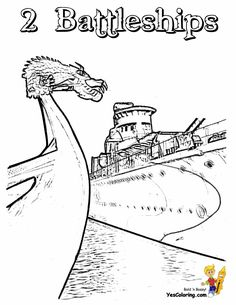 battleship coloring pages.html