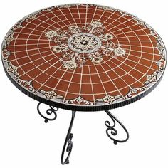 1000 Images About Tile Top Patio Table On Pinterest