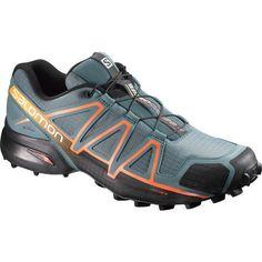 info for 6586b f96ef Salomon Men s Speedcross 4 Trail Running Shoes (Black Light Blue, Size 10)