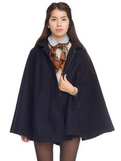 American Apparel cape. Looks a little like Cho Chang from Harry Potter, amiright?