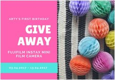 Arty's Getaway: First Birthday GIVEAWAY // In order for me to properly celebrate Arty's Getaway's First Birthday, which is on April 14th 2017, I decided it would be best to host a giveaway. Continue below to see what the fuss is all about.