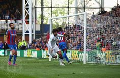 LONDON, ENGLAND - MAY 09: Marouane Fellaini of Manchester United celebrates scoring his team's second goal during the Barclays Premier League match between Crystal Palace and Manchester United at Selhurst Park on May 9, 2015 in London, England.
