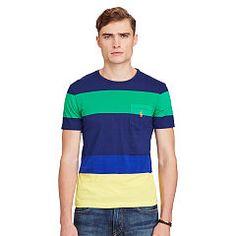 Cotton Jersey Crewneck T-Shirt - Polo Ralph Lauren Tees - RalphLauren.com