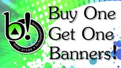 The Benefits of Banners - Bounce Marketing Foundation wants to make banners your go-to advertising tool because of their mobility and their low cost. Besides, it's an excellent way to introduce your brand to the world. www.bouncemarketing.org | 844-319-9600
