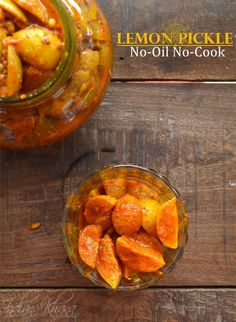 Lemon Pickle Nimboo Ka Achar No-Oil Lemon Pickle Recipe