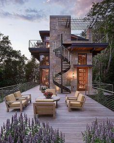Impressive 50 Trending Modern Home Design Exterior Design Exterior, Exterior Colors, House Goals, Modern House Design, My Dream Home, Dream Homes, Future House, Interior Architecture, Staircase Architecture