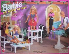 Barbie Patio Playset 1995