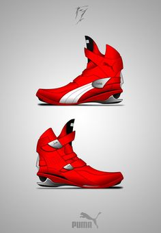 "PUMA - Concept ""F1"" by Piotr Czyzewski #Fashion #Industrial_Design #Design"